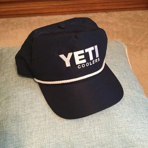 Yeti cooler rope baseball hat
